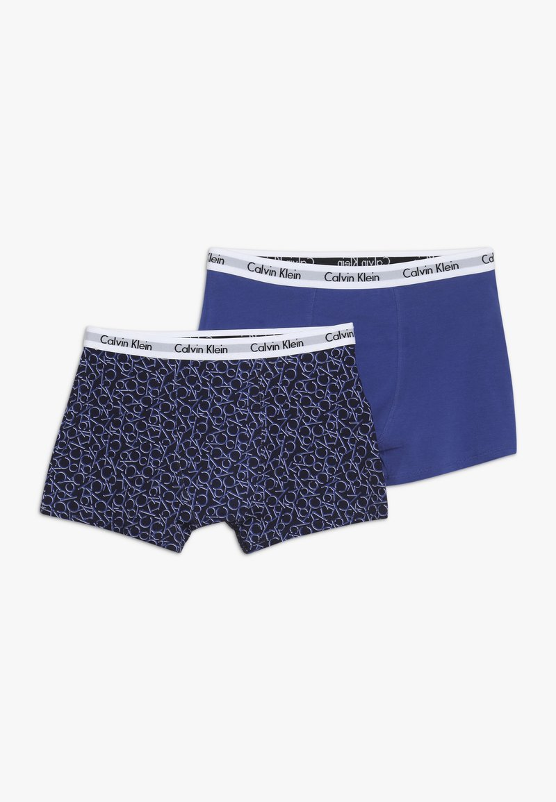 Calvin Klein Underwear - TRUNKS 2 PACK - Panties - blue