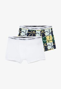 Calvin Klein Underwear - TRUNKS 2 PACK - Shorty - green - 4