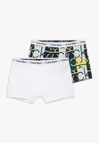 Calvin Klein Underwear - TRUNKS 2 PACK - Shorty - green - 0