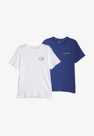 TEES 2 PACK - Tílko - white