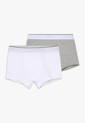 TRUNKS 2 PACK - Pants - grey