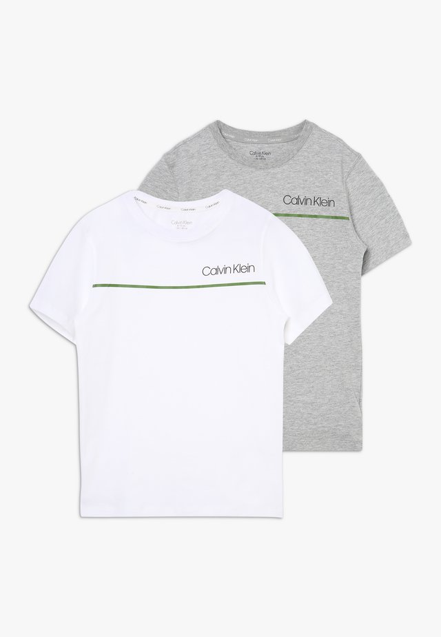 TEES 2 PACK - Caraco - grey