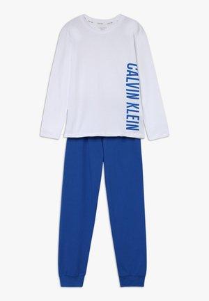 Pyjama - white/princess blue