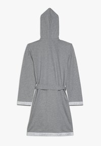 Calvin Klein Underwear - HOODED ROBE - Dressing gown - grey - 1