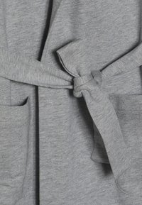 Calvin Klein Underwear - HOODED ROBE - Dressing gown - grey - 3