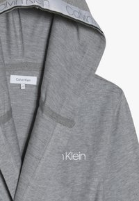 Calvin Klein Underwear - HOODED ROBE - Dressing gown - grey - 5