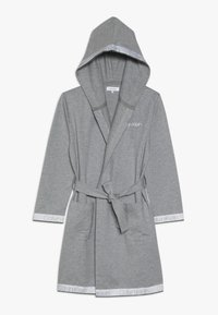 Calvin Klein Underwear - HOODED ROBE - Dressing gown - grey - 0