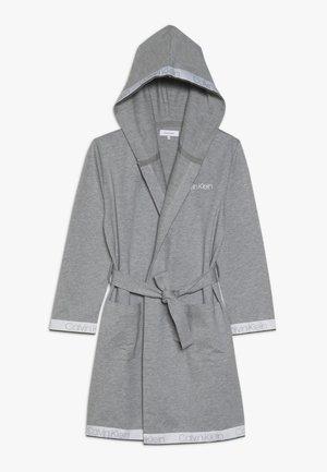 HOODED ROBE - Peignoir - grey