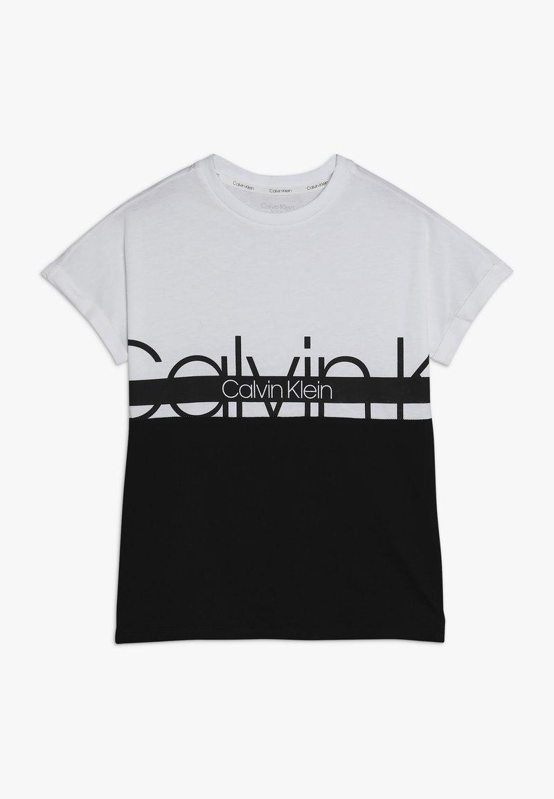 Calvin Klein Underwear - TEE - Printtipaita - white