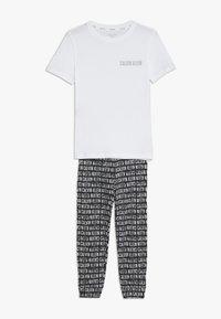 Calvin Klein Underwear - SET - Pantalon de survêtement - white - 0
