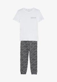 Calvin Klein Underwear - SET - Pantalon de survêtement - white - 3