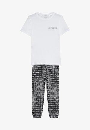SET - Teplákové kalhoty - white