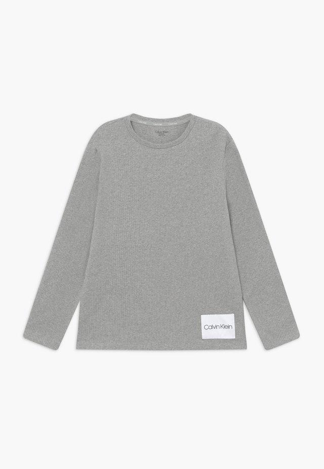 TEE - Bluzka z długim rękawem - grey