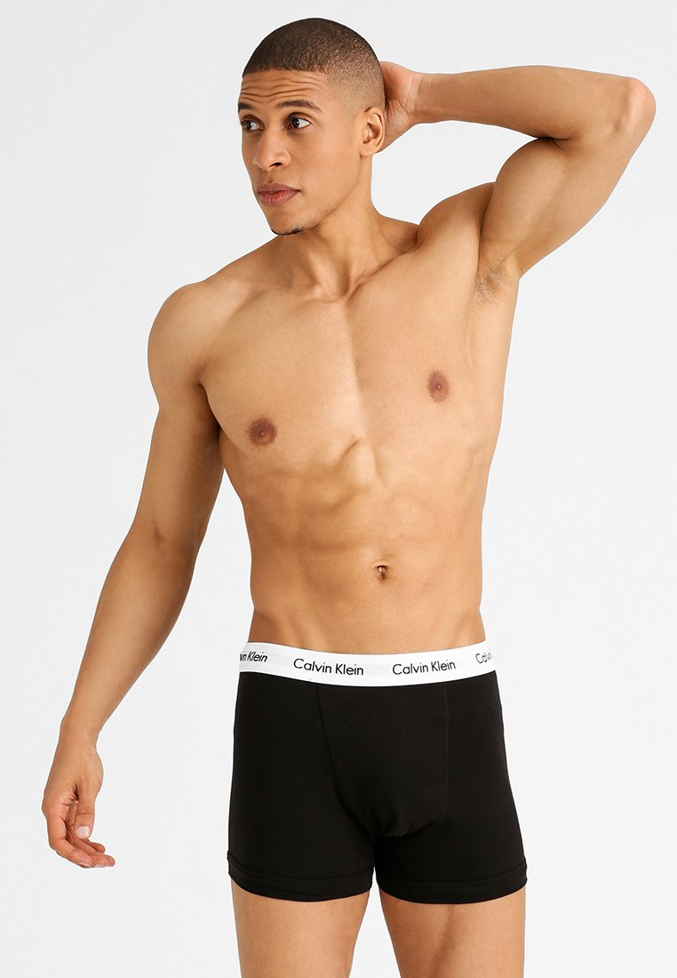 Calvin Klein Underwear - 3 PACK - Panties - black