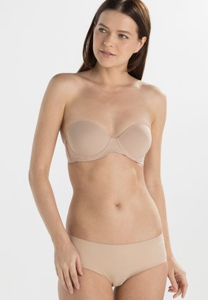 PERFECTLY FIT - Strapless BH - sanddune