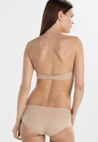 Calvin Klein Underwear - PERFECTLY FIT - Olkaimettomat/muut rintaliivit - sanddune - 2