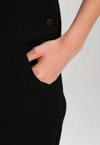 Carhartt WIP - W BIB OVERALL HURON - Salopette - black rinsed - 4