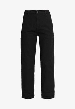 PIERCE PANT - Bukse - black rinsed