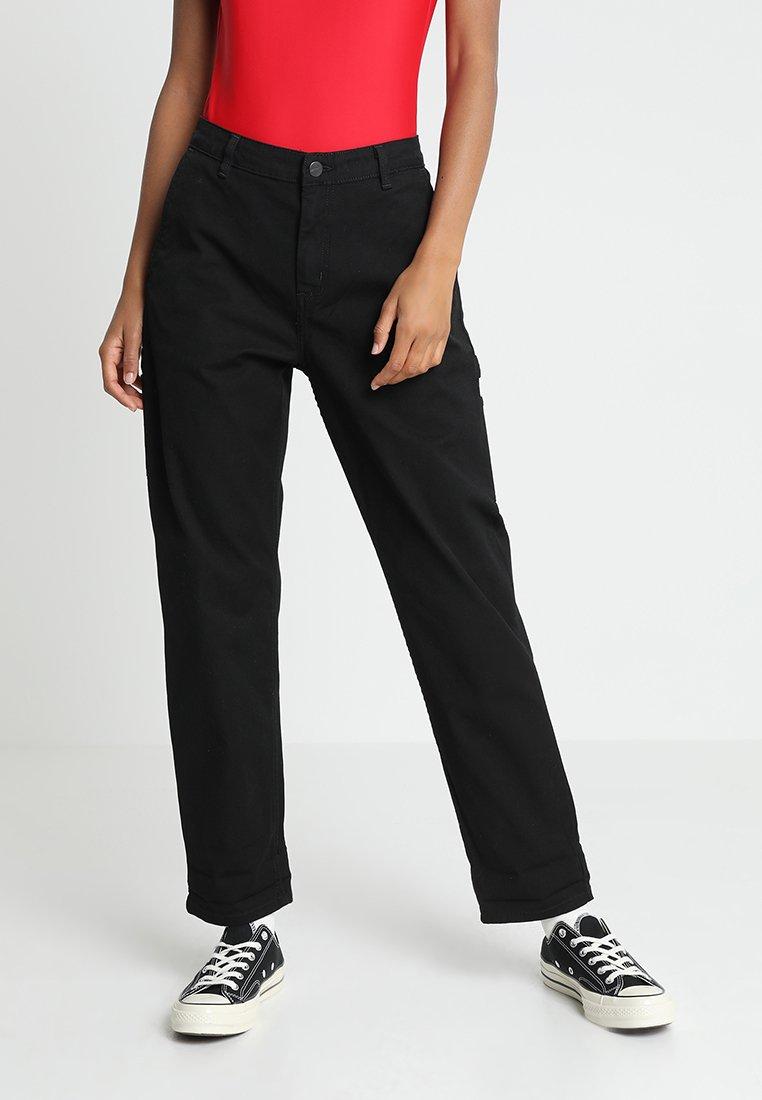 Carhartt WIP PIERCE PANT - Spodnie materiałowe - black rinsed