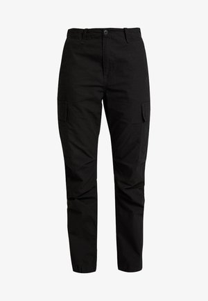 CYMBAL PANT COLUMBIA - Tygbyxor - black rinsed