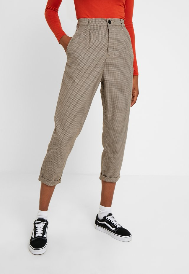 PULLMAN PASCO PANT - Trousers - hamilton brown rigid