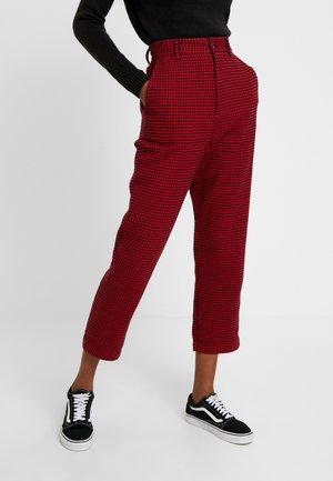NORVELL PANT - Kalhoty - cardinal