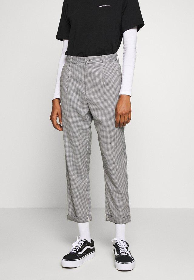 PULLMAN PANT MONTEBELLO - Spodnie materiałowe - black rigid