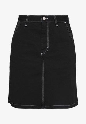 ARMANDA SKIRT ACADIA - Áčková sukně - black