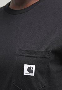 Carhartt WIP - CARRIE POCKET - Camiseta básica - black - 4
