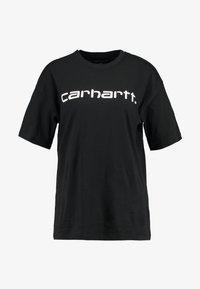 Carhartt WIP - SCRIPT - T-shirts print - black/white - 3