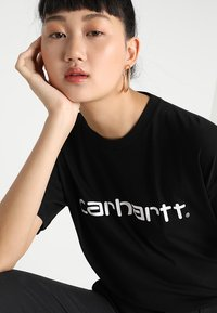 Carhartt WIP - SCRIPT - T-shirts print - black/white - 4