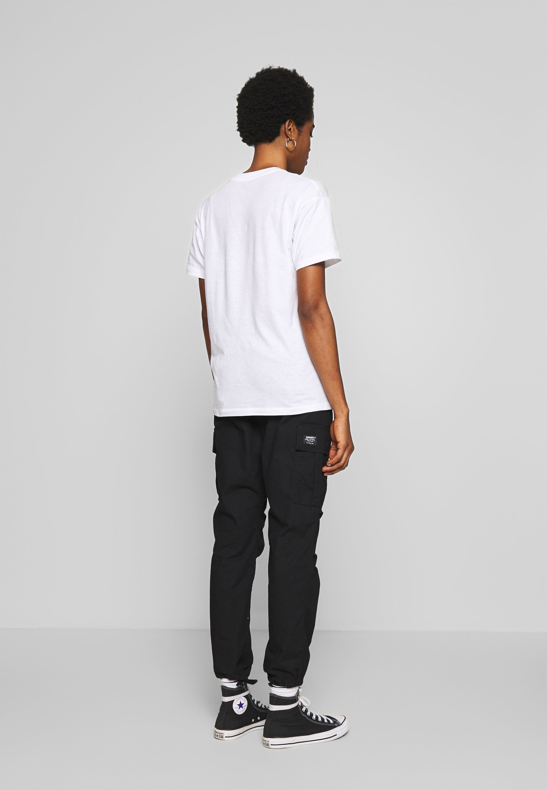 Carhartt WIP SCRIPT EMBROIDERY - T-shirts - white