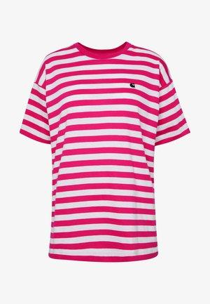 SCOTTY - Print T-shirt - ruby pink/white
