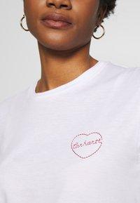 Carhartt WIP - TILDA HEART - T-shirts med print - white - 4