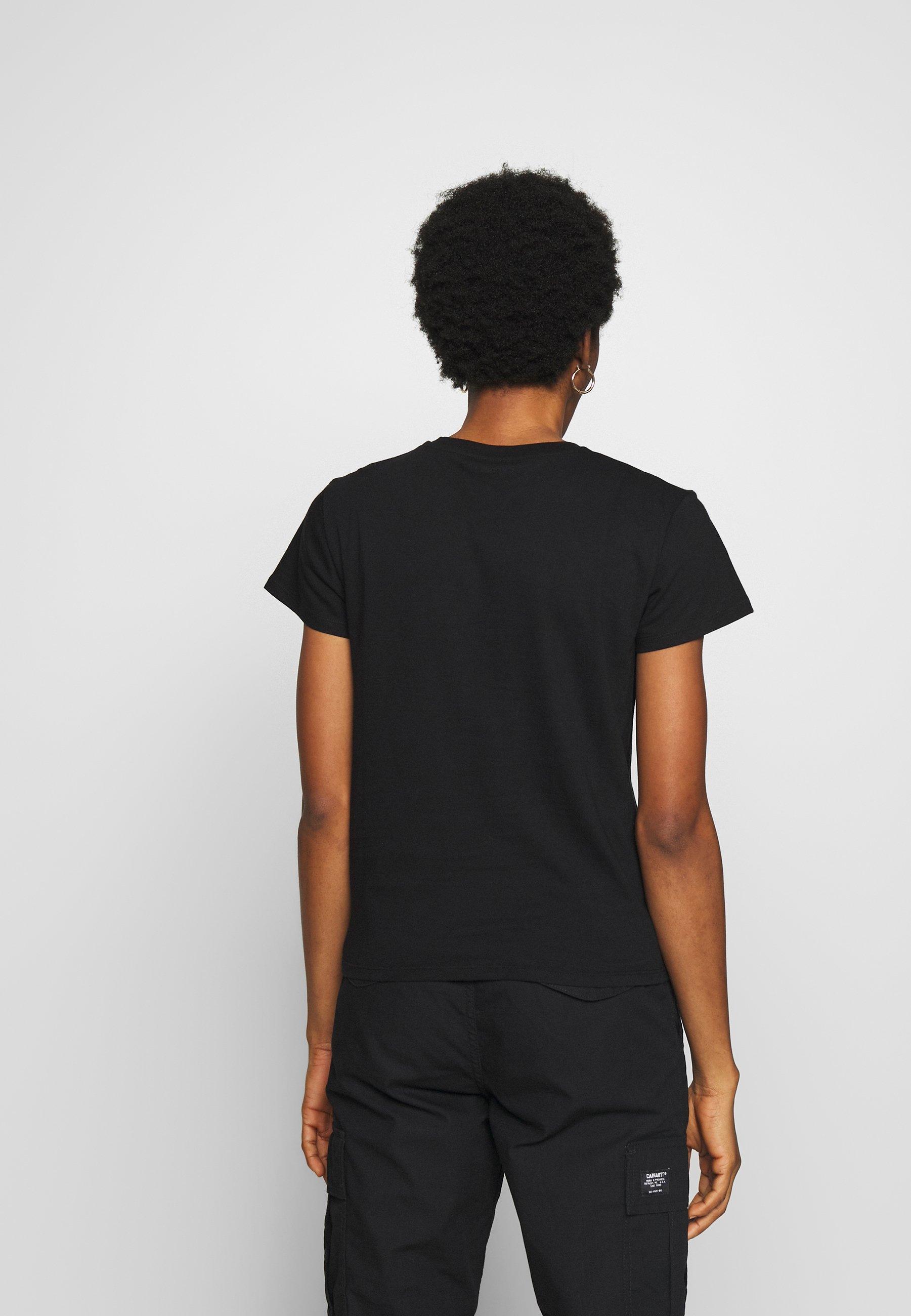 Carhartt WIP TILDA HEART - T-shirts med print - black