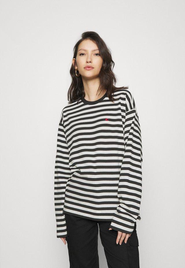 PARKER  - Long sleeved top - black