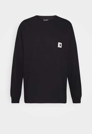 POCKET - Longsleeve - black