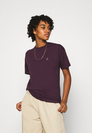 Print T-shirt - boysenberry
