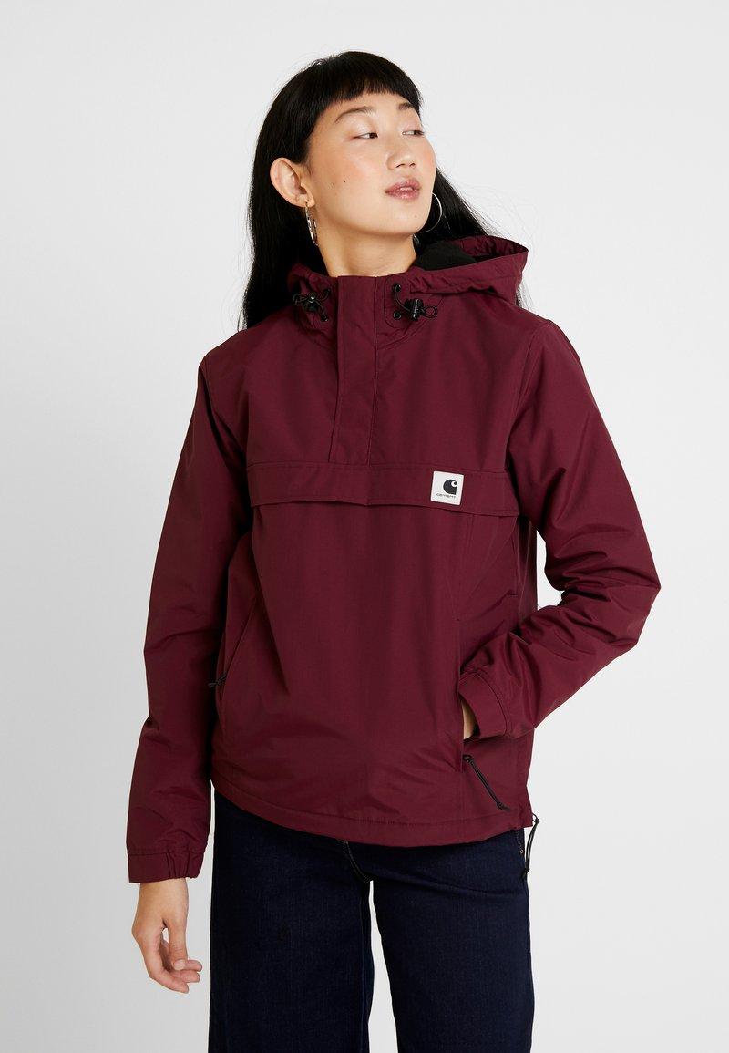 Carhartt WIP - NIMBUS - Light jacket - merlot