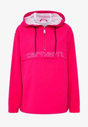 SCRIPT - Vindjakke - ruby pink/white