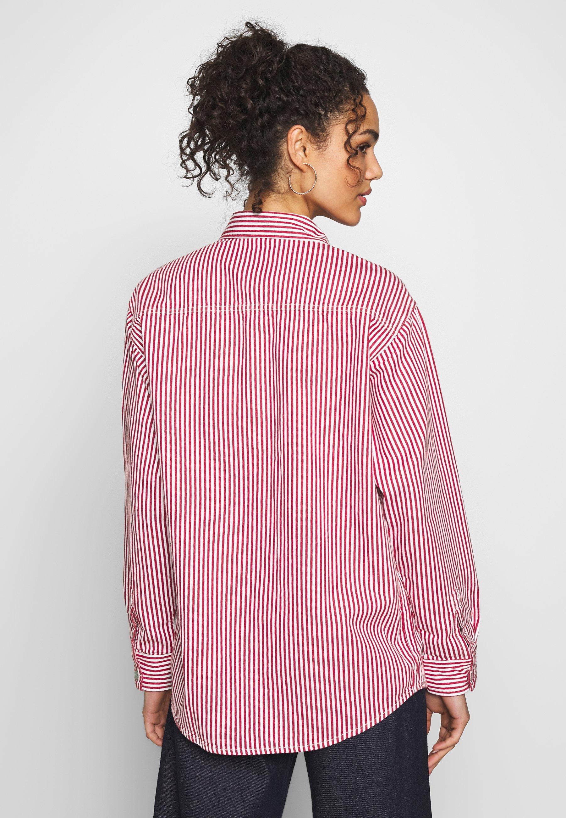 Carhartt WIP Skjorte - red/white