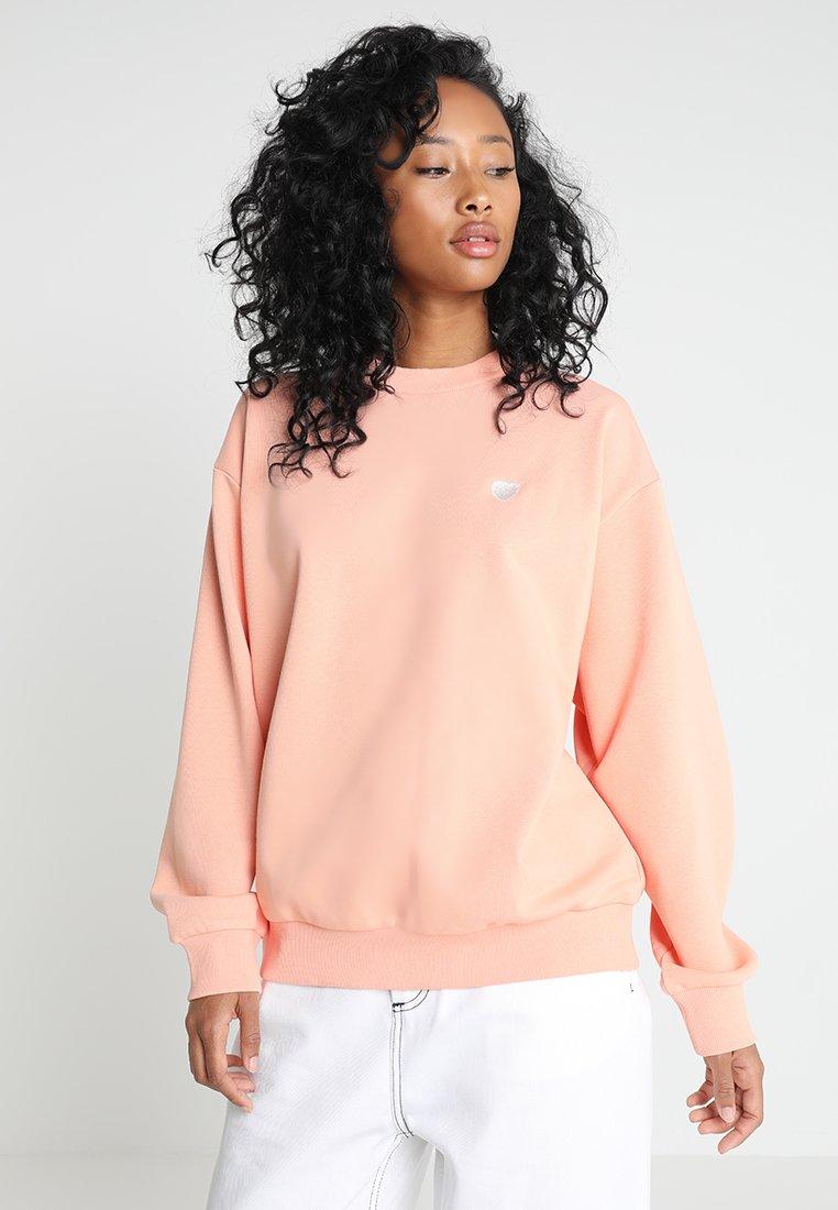 Carhartt WIP - Sweatshirt - peach/white