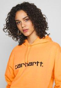 Carhartt WIP - HOODED - Sweat à capuche - pop orange/black - 3