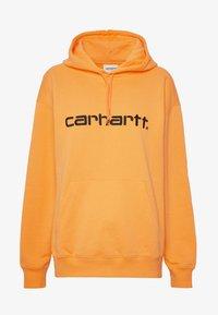 Carhartt WIP - HOODED - Sweat à capuche - pop orange/black - 4