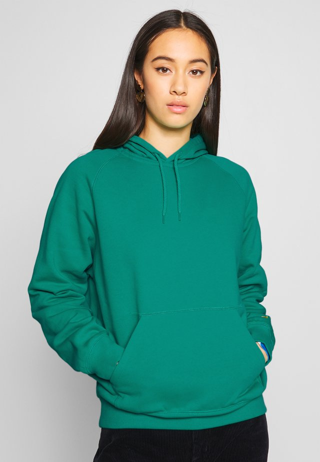 HOODED CHASY - Hoodie - yoda/gold