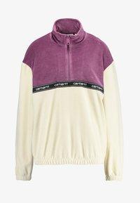 Carhartt WIP - TILA - Sweatshirts - flour/dusty fuchsia - 3