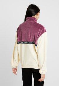 Carhartt WIP - TILA - Sweatshirts - flour/dusty fuchsia - 2