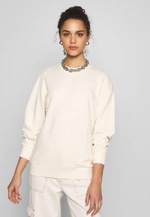 Sweatshirt - natural/pop coral
