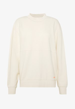 Sweatshirt - natural/pop coral