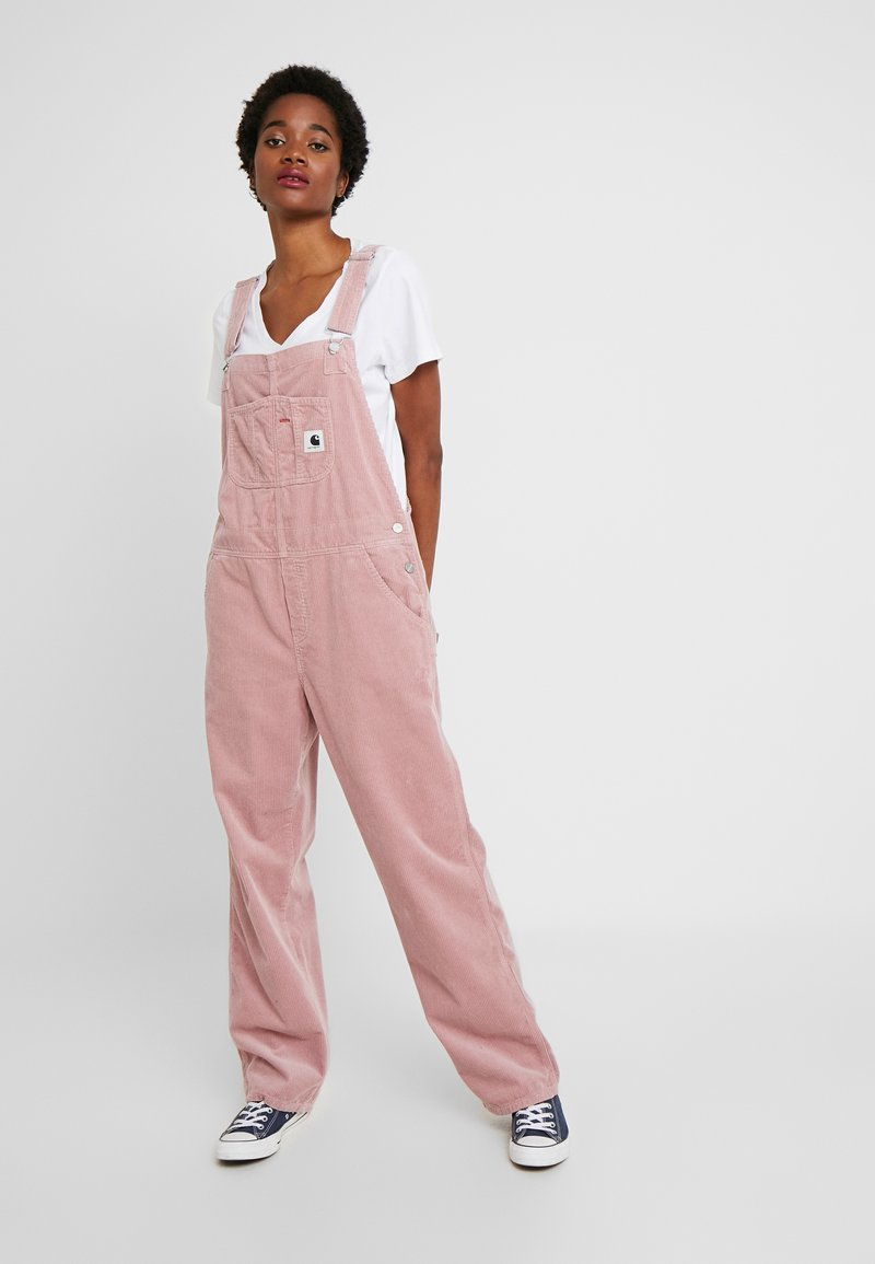 Carhartt WIP - OVERALL COVENTRY STRAIGHT - Tuinbroek - blush rinsed